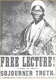 "an analysis of the poem aint i a woman by sojourner truth The sojourner truth project explores the different versions of the ""ain't i a woman"" speech and seeks to ""offer a more truthful picture of sojourner's."
