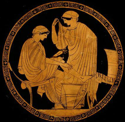 a literary analysis of vases and written histories in greek theatre